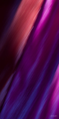 Abstract Photograph: Indigo Rhythms by Nat Coalson