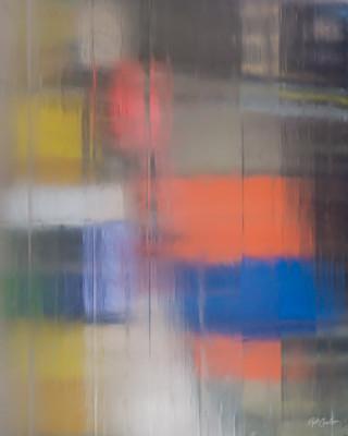 Abstract Photograph: Mosaic Veil by Nat Coalson