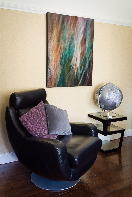 Abstract Mixed Media - The Unicorn In-Situ
